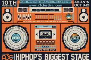 Win 2 All Access Passes To The 2014 A3C Festival Via HHS1987