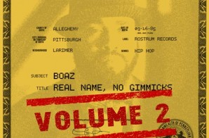 Boaz – Real Name, No Gimmicks Vol.2 (FreEP)