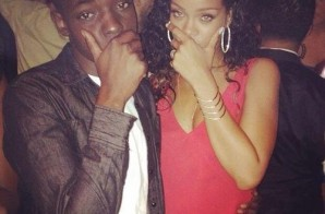 Bobby Shmurda Catches Up With Rihanna At NYFW Event