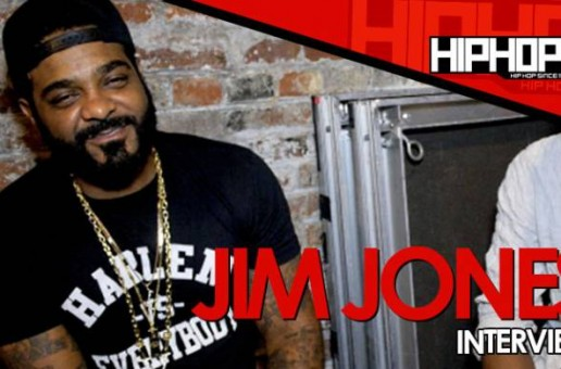 Jim Jones Lives The Vamp Life With HHS1987, Talks New EP & more (Video)