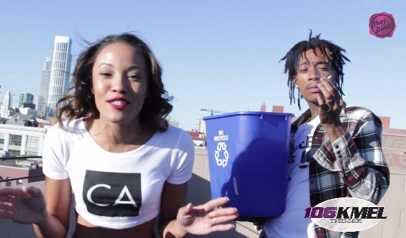 shaydiddyXals Watch Wiz Khalifa Dump A Bucket Of Ice On 106KMELs Own Shay Diddy For The ALS Challenge!