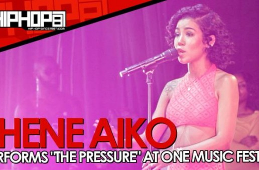"""Jhene Aiko Performs """"The Pressure"""" At One Music Fest In Atlanta (Video)"""