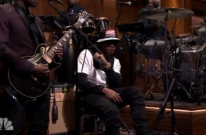 Nas – NY State Of Mind (Live On Jimmy Fallon) (Video)