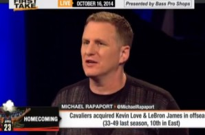 Michael Rapaport Has A Few Choice Words For LeBron Returning to Cleveland (Video)