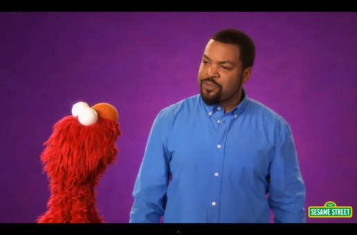 Ice Cube & Elmo Team Up For A Few Magic Tricks On Sesame Street (Video)