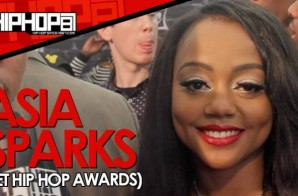 Asia Sparks Announces 'Spark Up, Vol. 2′ Release Date At The BET Hip Hop Awards With HHS1987 (Video)