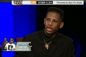 Fabolous Talks Def Jam, The Dallas Cowboys, The Knicks 2014-15 Season & More On ESPN's First Take (Video)