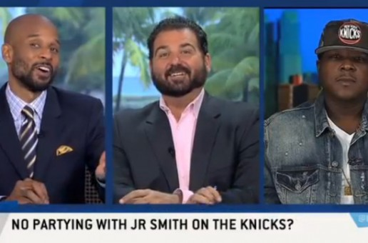 "Jadakiss Talks Biggie, The New York Knicks, Working with DMX & More On ESPN's ""Highly Questionable"" (Video)"