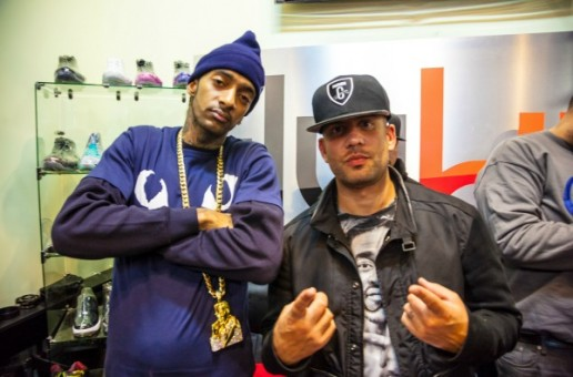 Nipsey Hussle Talks The Success Of Crenshaw, Being A Indie Artist & More With DJ Drama (Video)