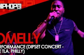 Omelly Performs At The TLA In Philly (09/21/14) (Video)