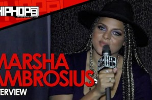 "Marsha Ambrosius Talks Her Tour & Album ""Friends & Lovers"", Writing Movies, Artist Not Going Platinum & More With HHS1987 (Video)"