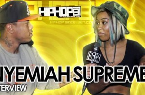 "Nyemiah Supreme Talks Sisterhood Of Hip-Hop, Her New Single ""What It Taste Like"", Timbaland & More With HHS1987 (Video)"