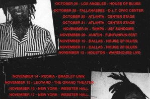 "Wiz Khalifa Announces His ""Blacc Hollywood Big Secret Tour"""