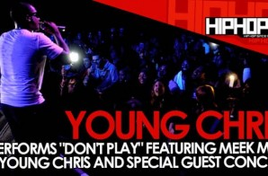"Young Chris Performs ""Don't Play"" At The TLA In Philly (10/09/14) (Video)"