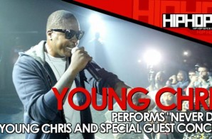 "Young Chris Performs ""Never Die"" At The TLA In Philly (10/09/14) (Video)"