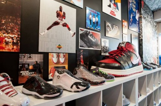 Jordan Heads Brooklyn Consignment Shop Opens In New York City