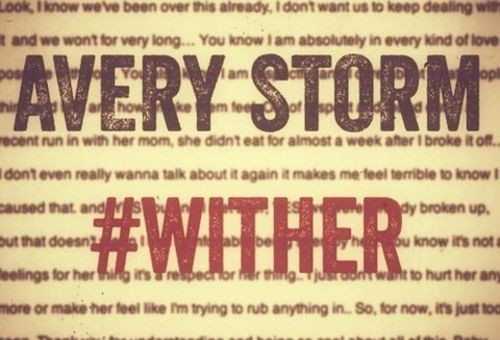 Avery Storm – #Wither
