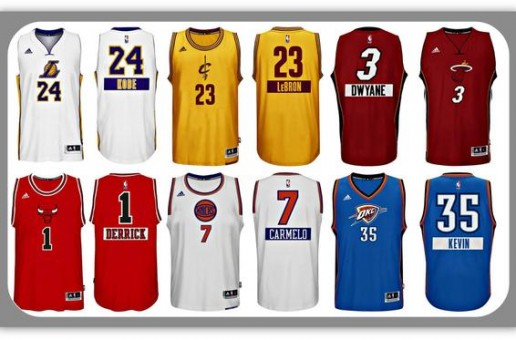 The NBA Has Revealed Their 2014 Christmas Uniforms (Photos)