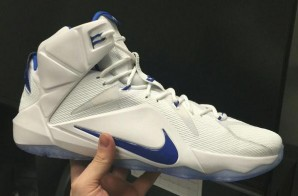 LeBron James Gives Kentucky Wildcats Custom LeBron 12s (Photo)