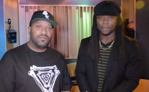 "Bun B co-signs Kayos Keyid in Studio ""Lyricism is Back"" (Video)"