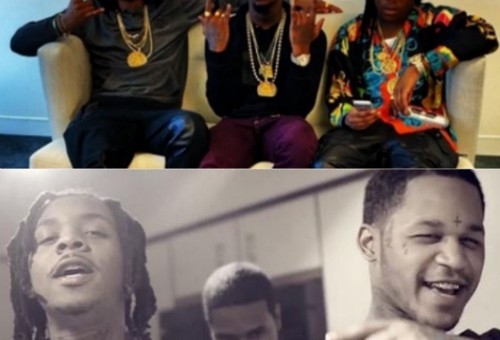 Migos &  GBE Member Capo Fight In Chicago, Fredo Santana Threatens The Group (Video)