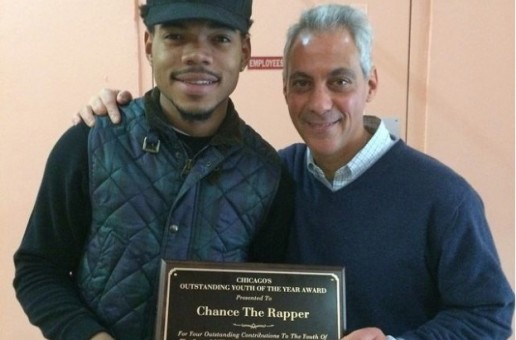 """Chance The Rapper Receives Honorary """"Outstanding Youth Of The Year"""" Award In Chicago"""