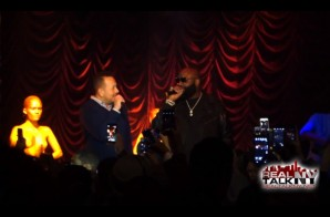 "Rick Ross Throws A ""Hood Billionaire"" Listening Event In New York City (Video)"