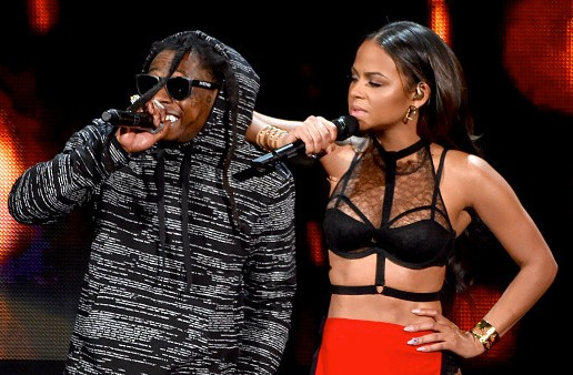 Lil Wayne & Christina Milian – Start A Fire (Live At 2014 American Music Awards) (Video)