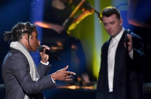 Sam Smith & ASAP Rocky – I'm Not The Only One (Live At 2014 American Music Awards) (Video)