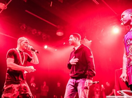 T.I. Joined By Drake & P. Reign In Toronto (Video)