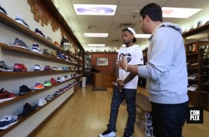 Fabolous Goes Sneaker Shopping with Complex at Packer Shoes in NJ (Video)