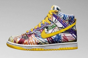 "Nike Dunk High Premium GS ""Scribble"" (Photos)"