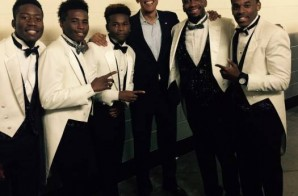 Philadelphia's Own Brotherly Love Sings For President Barack Obama (Video)