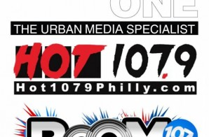Radio One's & Philly's Hot 107.9FM Changes Format to Boom 107.9FM, A Throwback Hip Hop Station