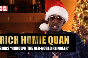 "Rich Homie Quan Sings ""Silent Night & ""Rudolph The Red-Nosed Reindeer"" (Video)"