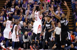 Houston Rockets All-Star James Harden Drops 44 Points To Help His Team Defeat The Kings In Overtime (Video)