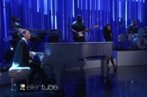 Nicki Minaj & Skylar Grey – Bed of Lies (Live On The Ellen Show) (Video)
