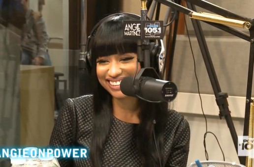 Nicki Minaj Gets Intimate In Interview With Angie Martinez (Video)