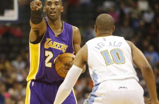 Kobe Bryant's Triple Double Helps The Los Angeles Lakers Defeat The Denver Nuggets (Video)