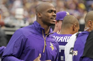 Adrian Peterson Is Considering Retiring From The NFL & Pursuing An Olympic Career