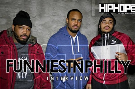 FunniestnPhilly Talks BB Gun Skit That Sent Him To Jail, Atown, Radio Show, 2015 Goals & more (Video)