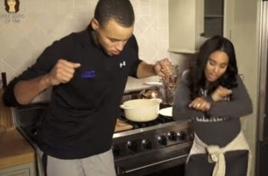 """Been Steph Curry With The Shot"": Steph Curry And His Wife Make ""Chef Curry With The Pot"" Remix (Video)"