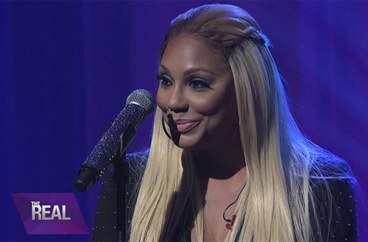"Tamar Braxton Performs ""Silent NIght"" On BET's The Real (Video)"