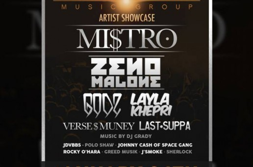 EVENT: ICHOR Music Group – Artist Showcase w/ Mi$tro, GODZ, Layla Khepri & More! (Springfield, VA)