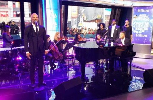 """Common and John Legend Perform """"Glory"""" During Good Morning America's """"Winter Concert Series"""" (Video)"""