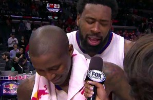 Lob City Brotherly Love: DeAndre Jordan Sings To Jamal Crawford During Interview Bomb (Video)