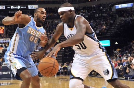 Zach Randolph's Double-Double Leads The Memphis Grizzlies Over The Denver Nuggets (99-69) (Video)