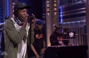 Joey Bada$$ & BJ The Chicago Kid – Like Me (Live On Jimmy Fallon) (Video)