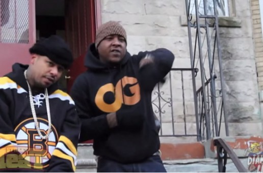 """Behind The Scenes With Chinx Drugz & Jadakiss For Their Latest """"Dope House"""" (Video)"""
