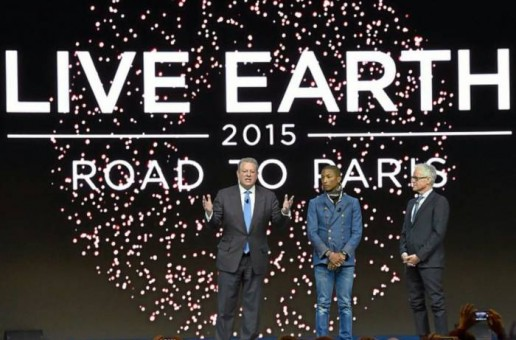 "Pharrell Appointed Creative Director Of ""Live Earth 2015!"""